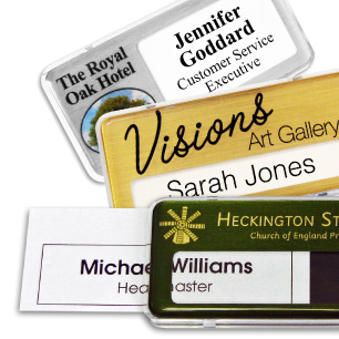 Name badges international staff name badges magnetic badges reusable name badges solutioingenieria Choice Image
