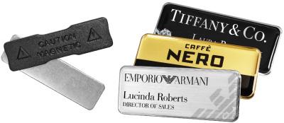 Magnetic Name Badges - Name Badges International - Staff