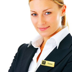 The professional choice in personalised name badges | www.namebadgesinternational.ie